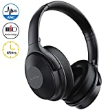 Mpow H17 Active Noise Cancelling Headphones, 45Hrs Playtime Bluetooth Headphones Over Ear