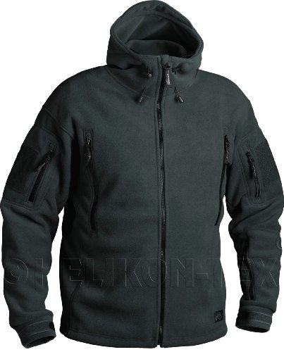 Helikon Tex PATRIOT Heavy Fleece JACKE - Jungle Grün (L)