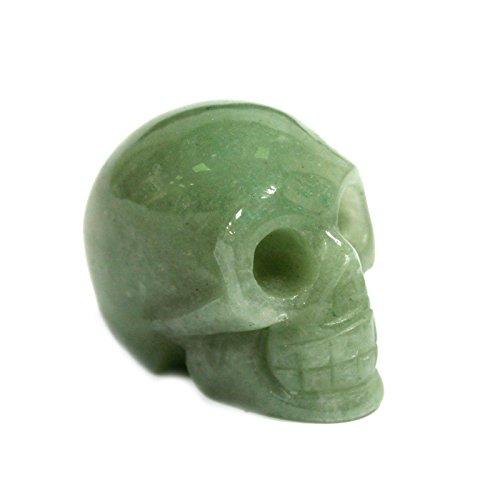 Gemstone Skull - Jade