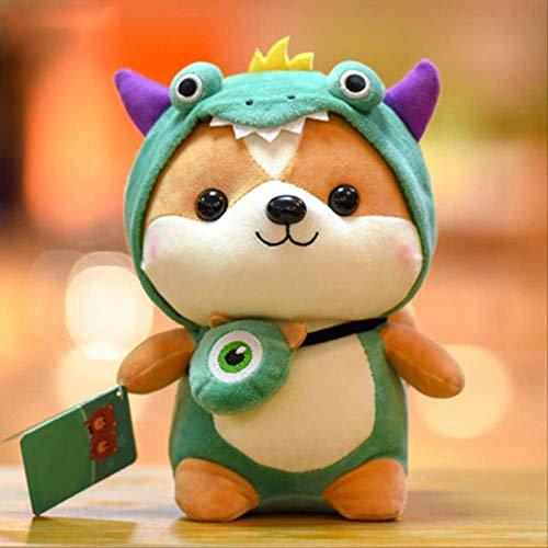 Cute little squirrel doll dinosaur plush toy unicorn children's doll girl birthday gift moose rag doll 45cm