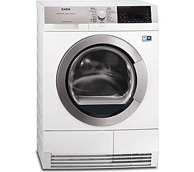 AEG T97689IH3 9Series AbsoluteCare 8kg Freestanding Heat Pump Condenser Tumble Dryer White