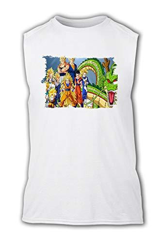 Camiseta SIN Mangas Dragon Ball Z Super SAIJAJINS Tshirt