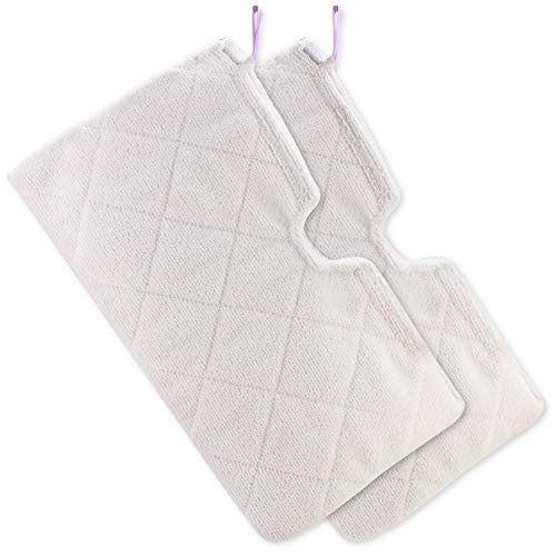 Tidy Monster 4 Pack Microfiber Steam Mop Replacement Pads for Shark Steam Pocket Mops S3500 Series S3501 S3601 S3550 S3901 S3801 SE450 S3801CO S3601D, Machine Washable Cleaning Pads (2)
