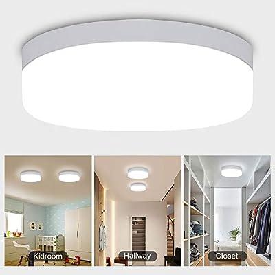 Flush Mount Led Ceiling Light Flat Round Lighting Fixture for Home,Bedroom