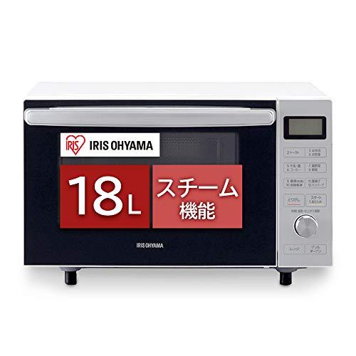 アイリスオーヤマ スチームオーブンレンジ カップ式 18L ホワイト MO-F1806-W