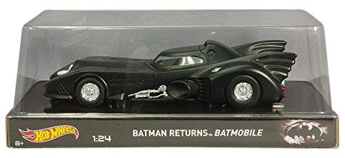 Hotwheels - Elite (Mattel) - Bly51 - Véhicule Miniature - Modèle À L'échelle - Batmobile - Batman Returns 1989 - Echelle 1/24