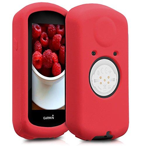 kwmobile Funda Compatible con Garmin Edge 1030/1030 Plus - Carcasa de Silicona para GPS - Cover en Rojo