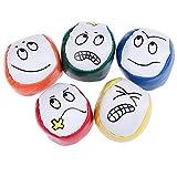 sus 5 Stück Jonglierbälle, Jonglierbälle für Anfänger Kinder, langlebiges Jonglierball-Kit, zum Erlernen des Jonglierens von Spielzeugspiel-Sitzsäcken Spaß