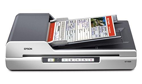Epson GT-1500 Flachbettscanner A4 - Scanner (216 x 356 mm, 48 Bit, Flachbettscanner, CCD, 40 Blätter, A4)