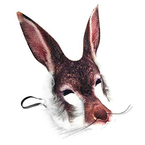 Fancy Dress VIP Realistico Viso Maschera Book Week Animal Jungle Zoo Woodland Personaggio...