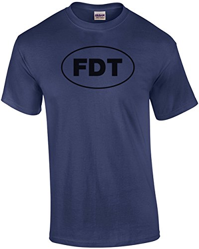 Fdt - Fuck Donald Trump T-Shirt Blue