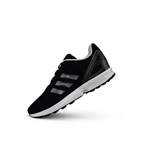 adidas Zx Flux Lentic J - Zapatillas deportivas, color negro y negro, color Negro, talla 38 2/3 EU