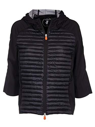 Luxury Fashion | Save The Duck Dames D4417WBAIS800001 Zwart Polyester Outerwear Jassen | Lente-zomer 20