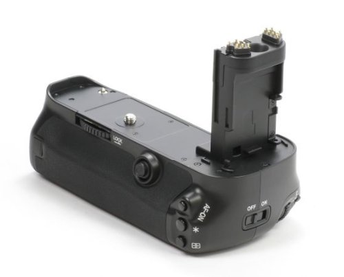 Meike Profi Batteriegriff Fuer Canon EOS 5DS, 5DS R, 5D Mark III als BG-E11 Ersatz Fuer LP-E6 Akkus