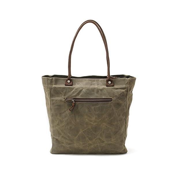 Fashion Shopping Peacechaos Women's Canvas Waterproof Shoulder Hand Bag Tote Bag Purse Handbag