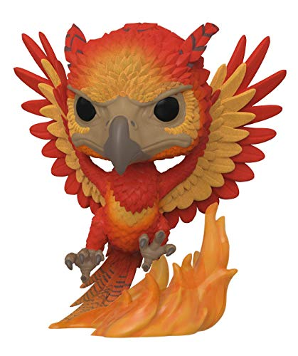 Funko Pop! Harry Potter - Fawkes (Flocked) #84 - 2019 SDCC