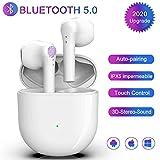 Auricolari Bluetooth Cuffie Bluetooth 5.0 Auricolari Del Rumore 3D Lsolamento Acustico Stereo Impermeabile IPX7 per iPhone Android Apple Airpods