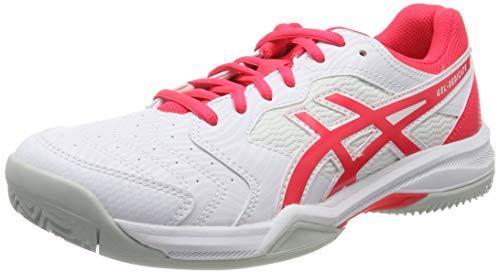 ASICS Gel-Dedicate 6 Clay, Scarpe da Tennis Donna, Bianco (White/Laser Pink 102), 36 EU
