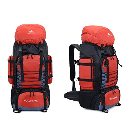 Travel Camping Backpack Hiking Military Mountaineering Bag Hiking Mountaineering Large Capacity Sports Backpack 90L