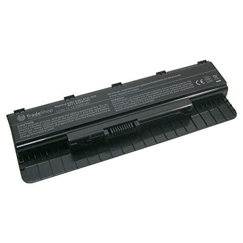 Trade-Shop Premium Li-Ion Akku, 10,8V/11,1V / 4400mAh / 48Wh für Asus GL771 GL771J GL771JM GL771JW N551 N551J N551JB N551JK N551JM N551JN N551JQ N551JV N551JW N551JX N551Z N551ZU N751 N751J
