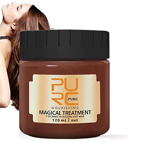 Magical Treatment Hair Mask 120ML,2020 Advanced Molecular Hair Roots Treatment 5 Seconds Repairs Damage Hair Root Hair Tonic Keratin Hair & Scalp Treatment