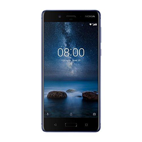 "Nokia 8 13,5 cm (5.3"") 6 GB 128 GB 4G Azul 3090 mAh - Smartphone (13,5 cm (5.3""), 6 GB, 128 GB, 13 MP, Android 7.1.1, Azul)"