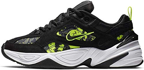 Nike W M2K TEKNO, Zapatillas de Atletismo para Mujer, Multicolor (Black/Anthracite/Hyper Pink/White 1), 38 EU