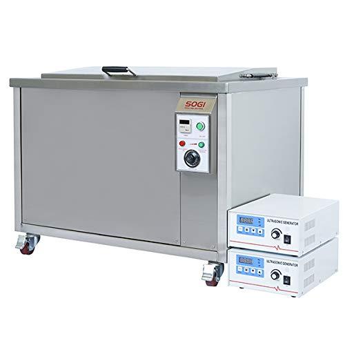 Vasca ultrasuoni industriale lavapezzi riscaldata da 160L SOGI VL-U1600R