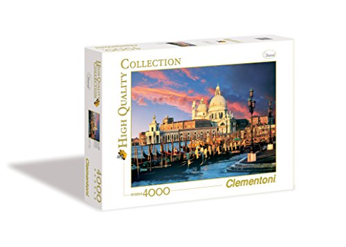 Clementoni Puzzle 34505 - Venezia - 4000 pezzi High Quality Collection