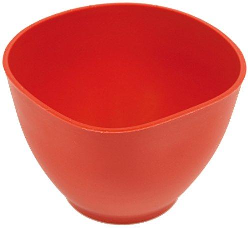 HAROMAC Gipsanrührbecher, rot, aus Gummi, Super Flexibel, konisch, Fliesen, Gips