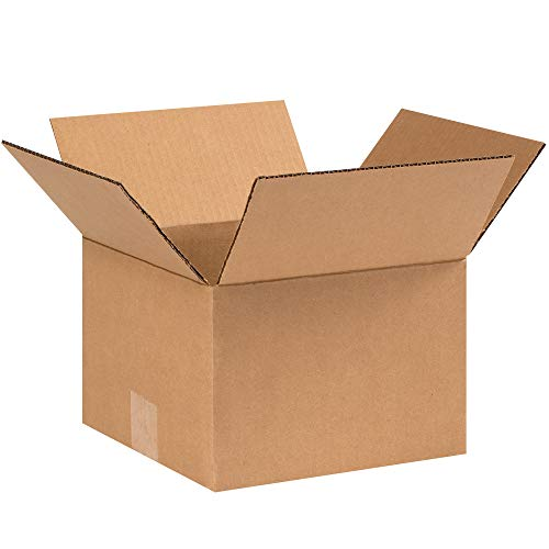 Aviditi 996 Corrugated Cardboard Box 9' L x 9' W x 6' H, Kraft, for Shipping, Packing and Moving (Pack of 25)