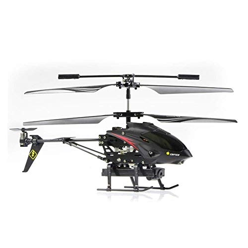 Toy Model 3.5 Channel Radio Remote Control Metal Gyro Rc Helicopter with Camera/Rc Helicopter Educational Birthday Gifts Shatterproof Flying Toys Model,The Best Gift for Kids