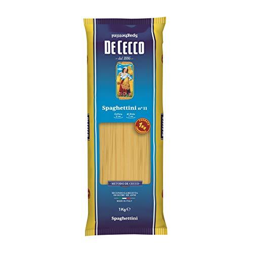 ディ・チェコ No.11 スパゲッティーニ(パスタ ゆで時間9分 1.6mm) ×2袋
