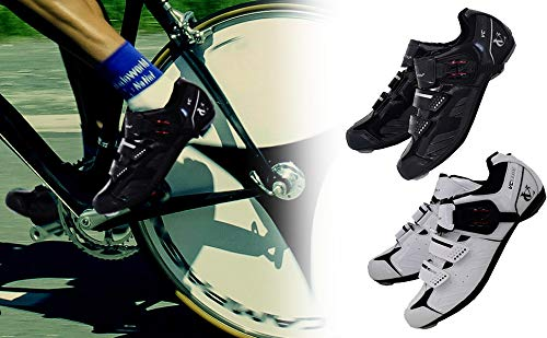 VeloChampion Elite Rennradschuh (Paar) Black/Silver 41 Road Cycling Shoes - 6