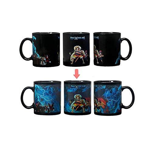 xingfuankang 1Stk 350Ml Keramik One Piece Ruffy Mug Animation Wassertemperatur Kaffeetasse Milchbecher Für Kinder Friends-Style_19_Gift_Box_Packaging