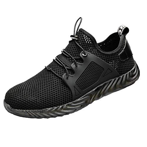 Syfinee Men Work Shoes Indestructible Ryder Steel Toe Boot Safety Military Sport Sneakers Zapatos Seguridad Hombre Punta de Acero Protección