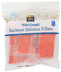 365 Everyday Value, Wild-Caught Sockeye Salmon Fillets, 32 oz (Frozen)