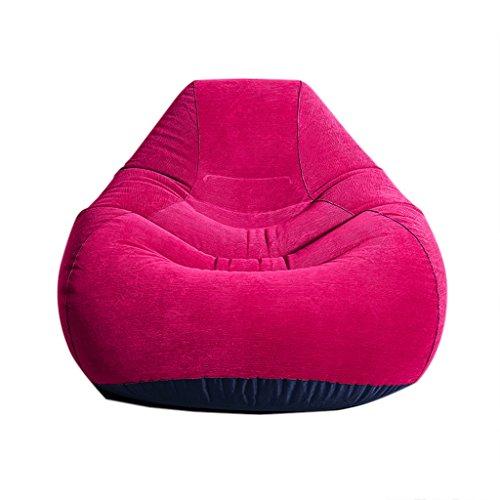 Chaise pliante Fauteuils inclinables Tatami Pliage canapé Gonflable Multi-Usage Chaise Longue Salon Chaise Bureau canapé (Size : 127cm/50inch)