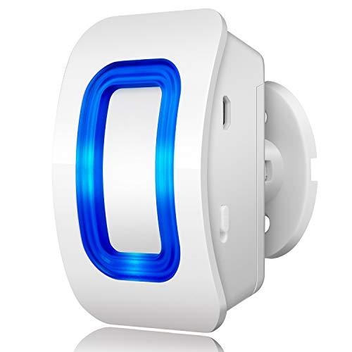 BITIWEND, sensore di movimento per ingresso e ingresso senza fili, sensore di movimento, rilevatore di movimento, allarme impermeabile, per casa, cortile, garage