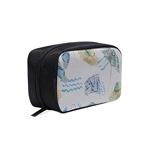 Kid Cosmetic Bag Colorful Cartoon Cute Beach Chair Womens Travel Toiletry Bag Nylon Toiletry Bag Cosmetic Travel Bags For Women Cosmetic Bags Multifunction Case Best Cosmetic Bag