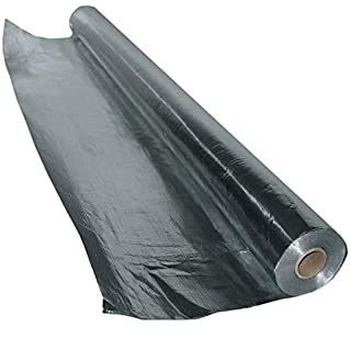 US Energy Products 275 sqft Aluminum Foil DOUBLE SIDED SOLID Barrier Insulation Sauna Vapor Barrier (3ft x 91.66ft)