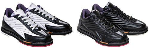 HI-SP ボウリング シューズ リパップ・エクストラ ホワイト・ブラック 25.5cm ハイ スポーツ ボウリング用品 靴 ボーリング グッズ
