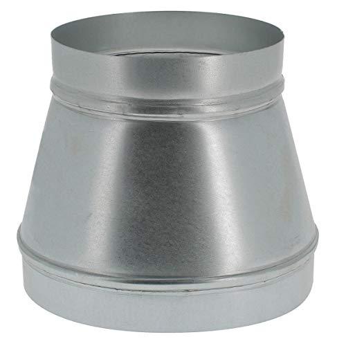 Réduction de ventilation métal Ø 250/200 mm