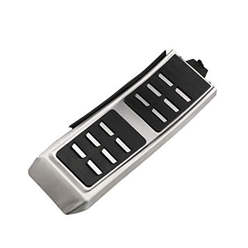 TMAAORS Piezas de accesorios de acero inoxidable Pedales de cubierta de pedal de coche, aptos para Audi A4 B8 A4L S4 Avant 8K 2010-2018 A4 Allroad Quattro 2010-2018