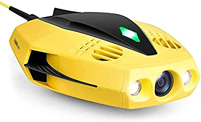 CHASING DORY Underwater Drone Camera - 1080p Full HD Underwater Drone with Camera for Real Time Viewing, APP Remote Control, Palm-Sized and Portable with Carrying Case, WiFi Buoy and 15m Tether, ROV from Chasing Dory