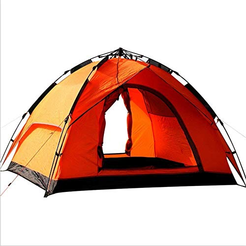 XIUYU Camping Tent, Outdoor Tent for 3-4 People Camping, Double Double Rainproof Camping Family Outing Shelter 213 * 213 * 320cm