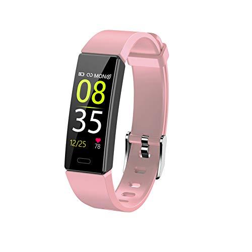 nulala Fitnesstracker, activiteitentracker-horloge met hartslagmeter, waterdichte smart-fitnessband met stappenteller, stappenteller-horloge voor jongens vrouwen en mannen