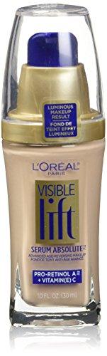 L'Oréal Paris Visible Lift Serum Absolute Foundation, Classic Ivory, 1 Fl Oz (1 Count)