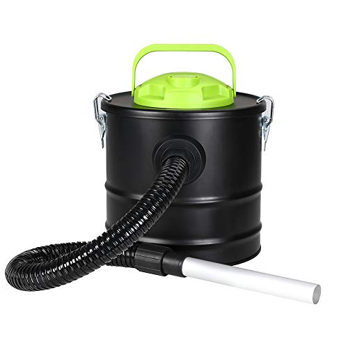 Aspiracenere Aspirapolvere Bidone 500w con Soffiatore ideale per Pulire Camini Stufe Pellet Capacita Serbatoio 10 LT