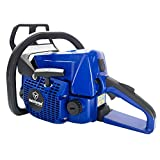 Farmertec Holzfforma 45.4cc Holzfforma Blue Thunder G255 Gasoline Chain Saw Power Head Only Without Guide Bar and Saw Chain All Parts Are Compatible With MS250 MS230 MS210 025 023 025 Chainsaw
